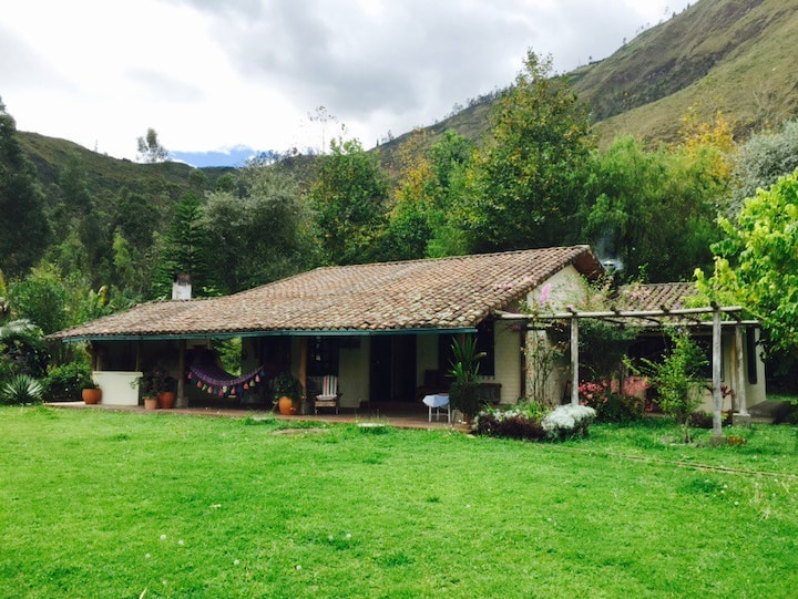 Farm house outside Ibarra, Ecuador