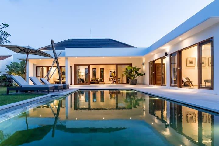 The leaf villa, brand new stylish villa  in sanur