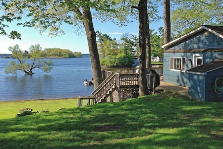 Thousand Islands Waterfront Cottage - Mallorytown - Cabaña