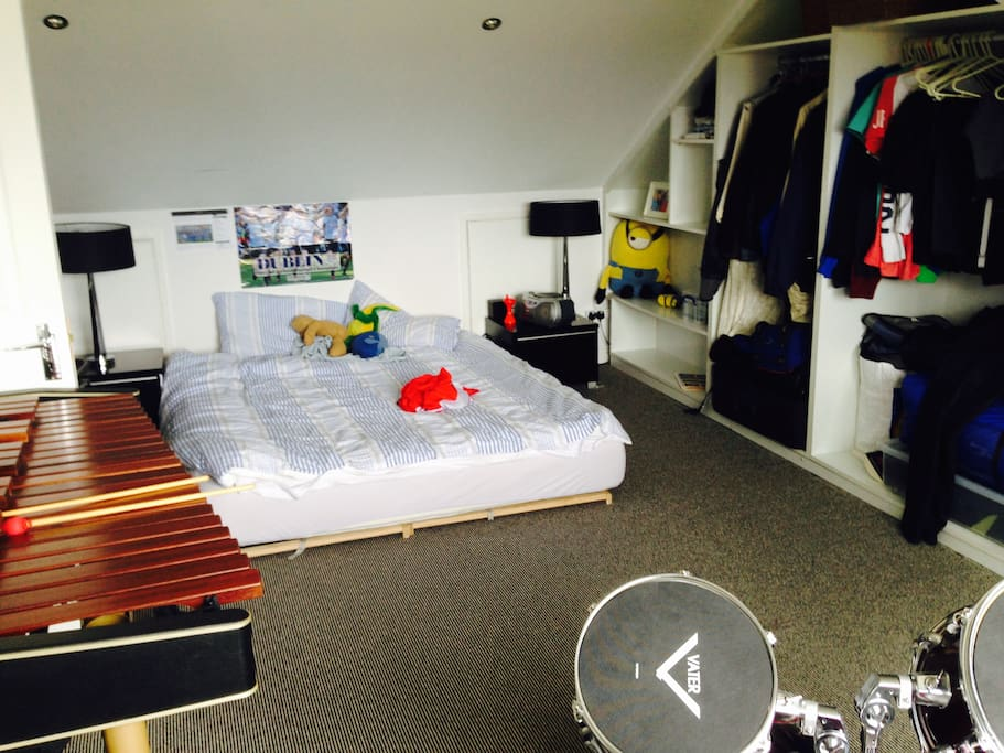 Attic Room with Double Bed, Ensuite with Shower