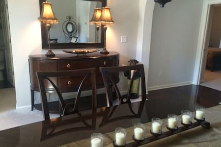 Custom townhome exclusive area with dash of whimsy - Carmel