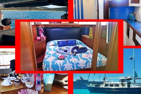 Bed&Breakfast Yacht Double Bed, CRUISING is extra - Marigot