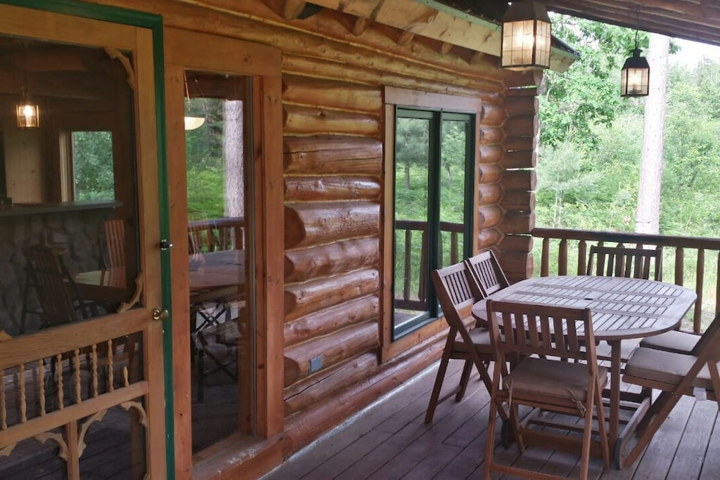 Calming Cabin By The Wooded River Houses For Rent In