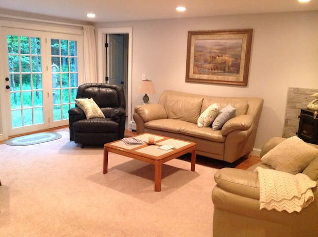 Your own private comfy living room