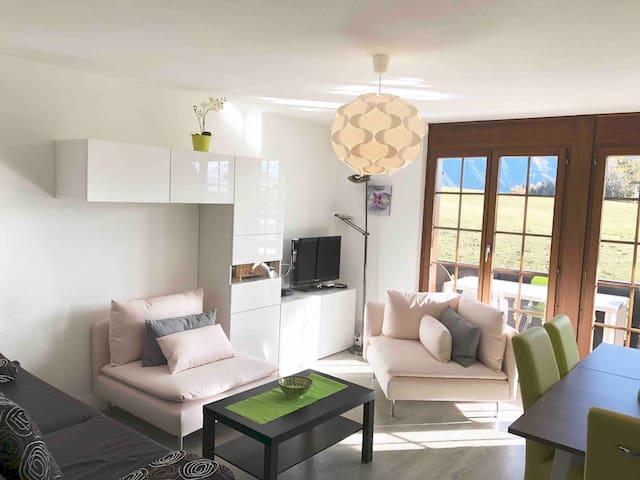 Appartement moderne 2 pièces à Leysin