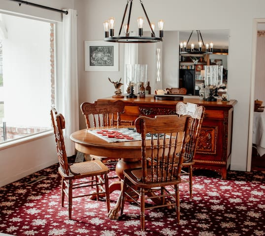 Checkers Table in Main Living Room (Shared Space)