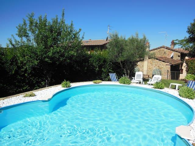 Cottage Roccaio Cortona - Cortona - Vila