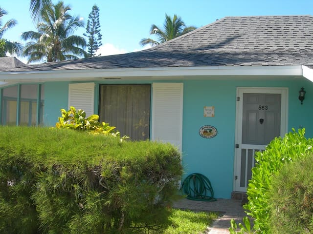 Treasure Cay, Beach Villa, 2 BR/2Ba