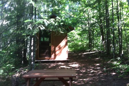 Camping Cabin in the Woods - White Salmon - Cabaña