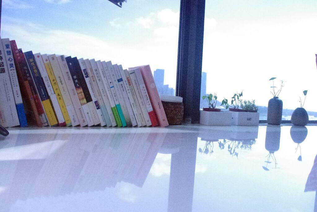 随手取阅的书