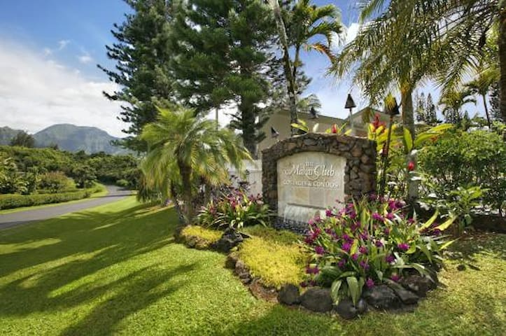 Awesome Kauai cottage on Princeville golf course - Princeville - Cabane