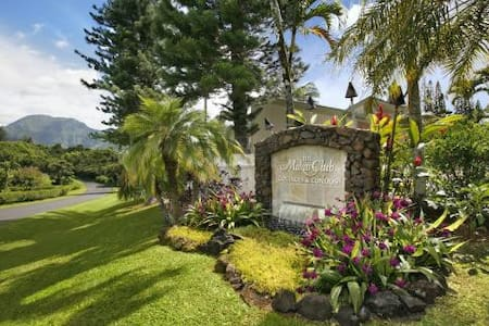 Awesome Kauai cottage on Princeville golf course - Princeville - Kabin