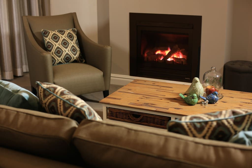 Sitting Area with Fire place