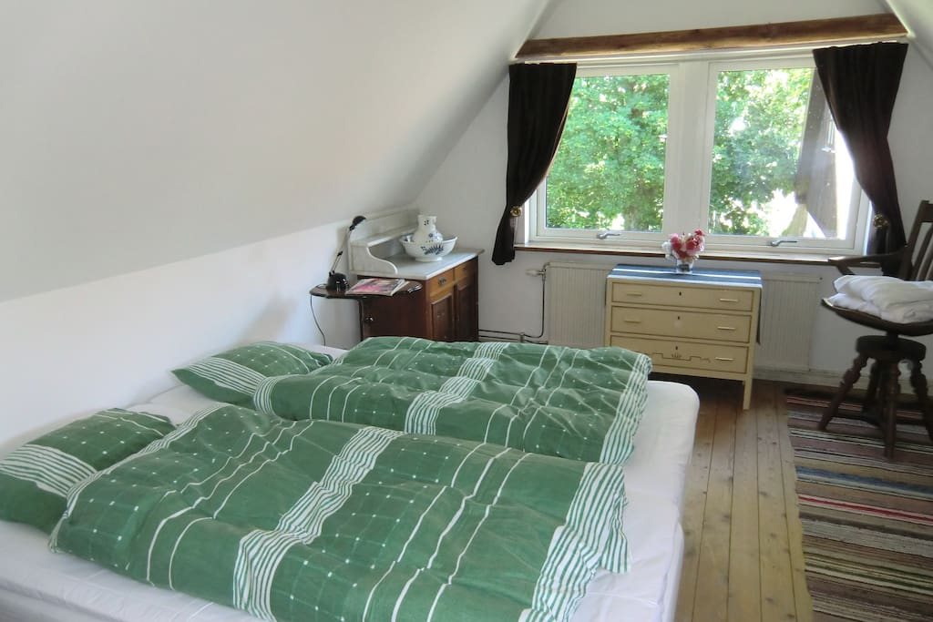 Separate Bed Room with two beds. One spare bed can be put upon request.