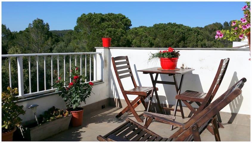 Double room & terrace - Girona - Bed & Breakfast