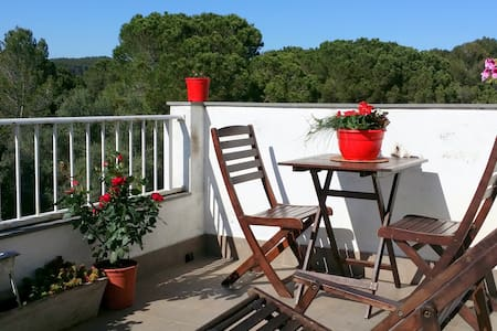 Double room & terrace - Girona - Bed & Breakfast