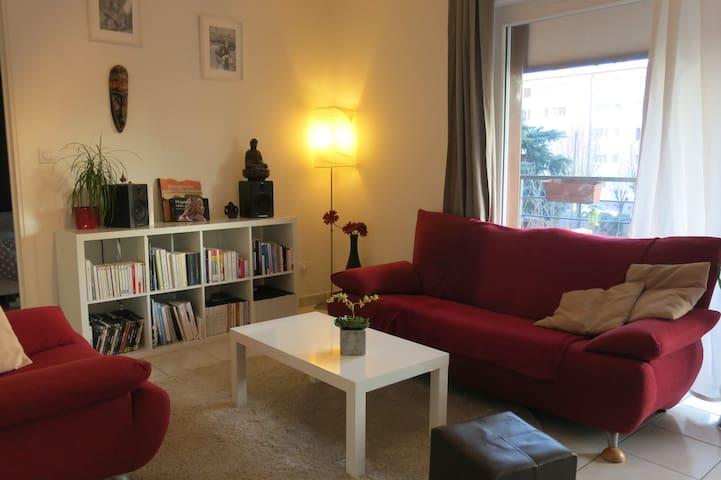 Appartement Cosy T2 tout équipé - Joué-lès-Tours - Leilighet