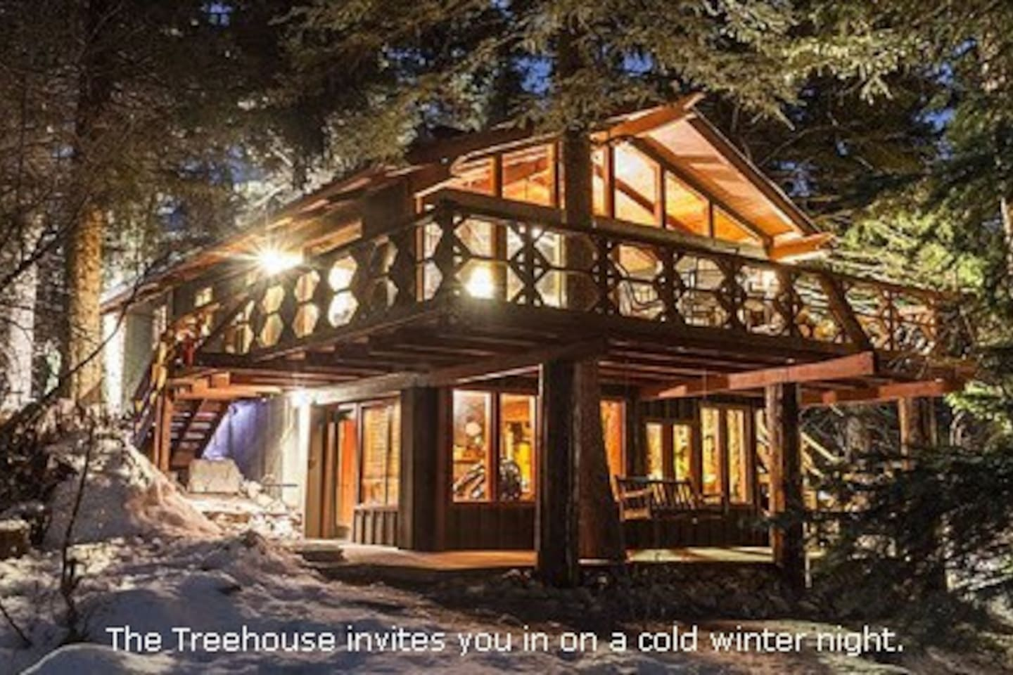 Treehouse Pictures Treehouse Cabin On The Stream Family Friendly Houses For Rent