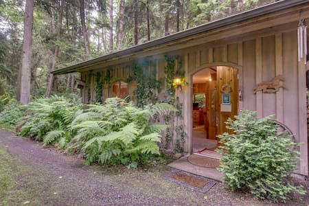 Cozy log cabin in beautiful surroundings - perfect for couples!