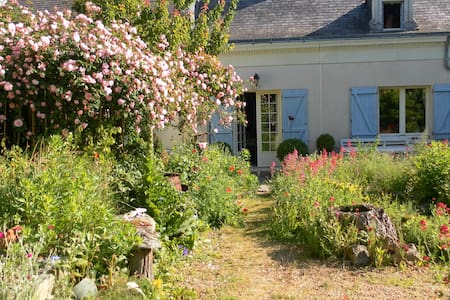 Loire Valley Farmhouse+UniqueGarden - Saint-Rémy-la-Varenne - 단독주택