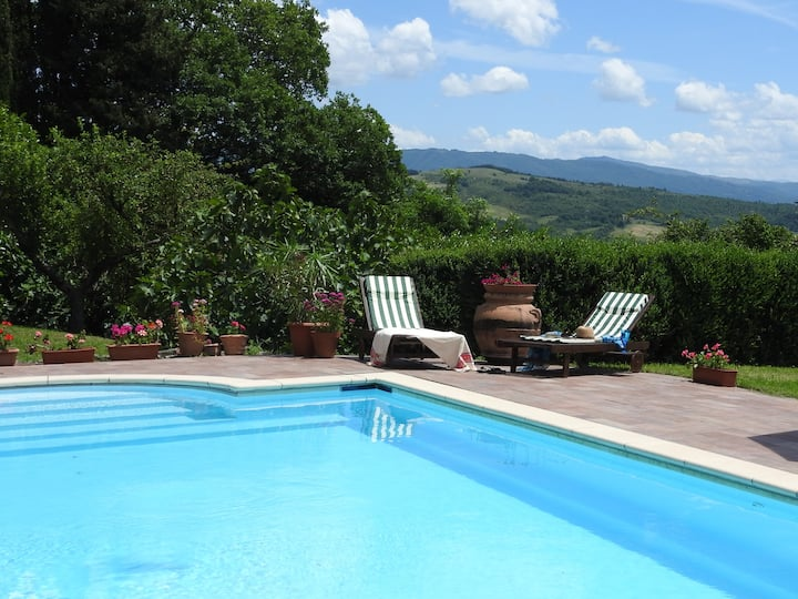 Beautiful villa, 12m private pool, sleeps 2 to 8