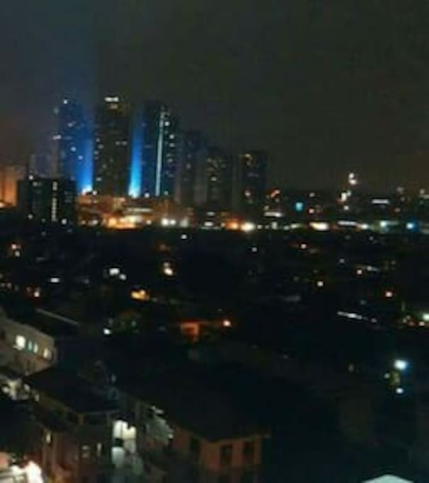 Night view facing Libis @ 12th floor