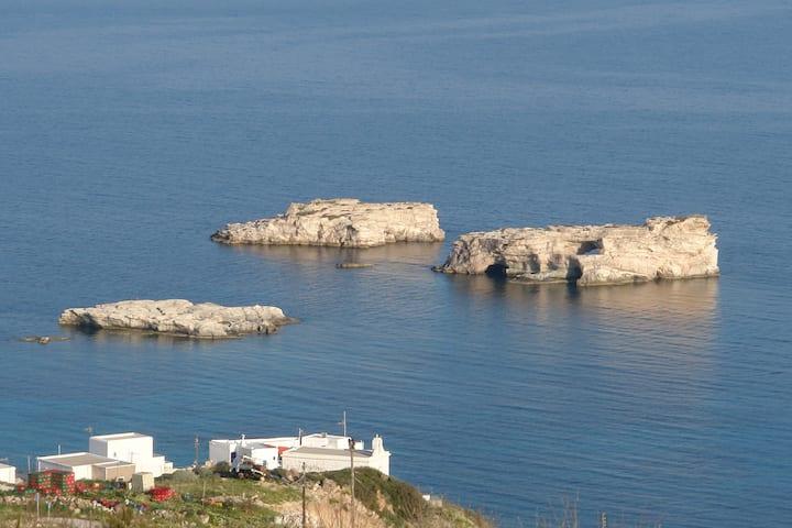 Helen's place in Kimolos