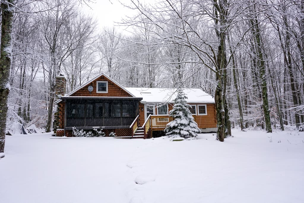 Winter at the Cabin!