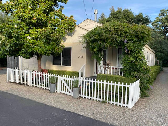 A Charming Bungalow located in quaint Yountville.