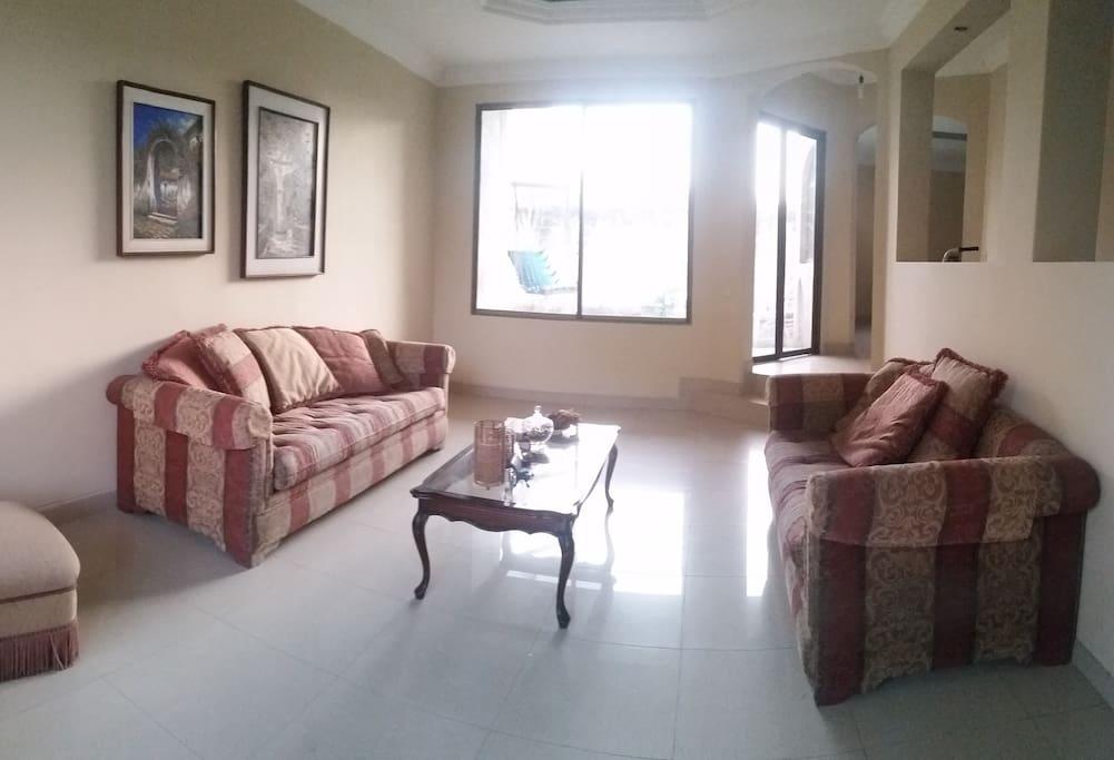 Big bright livingroom.