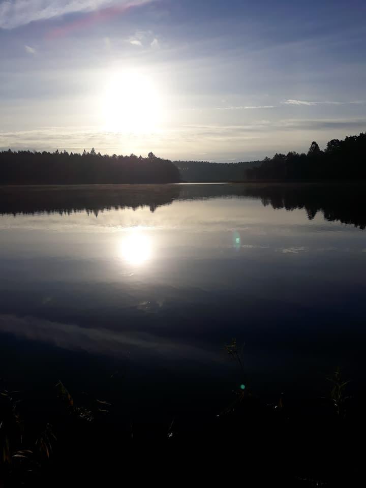 Wynajmę dom nad jeziorem - Borzechowo