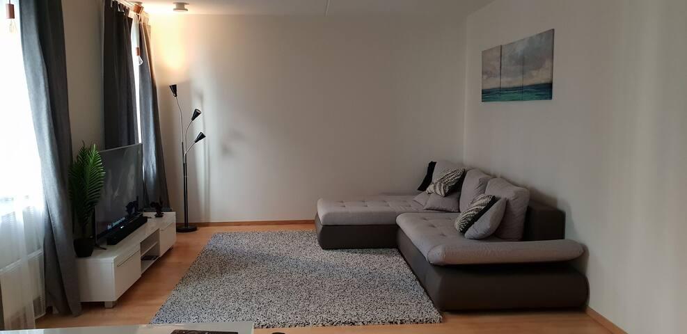 Bed Sofa in spacious apartment