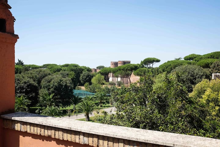 Spacious flat in central Rome with garden - Roma - Apartment