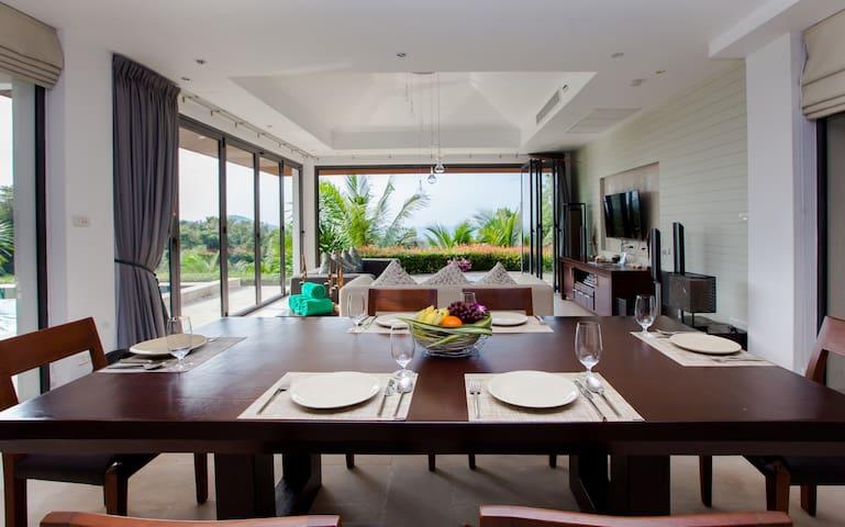Phukhao 2 Bed room Seaview Villa