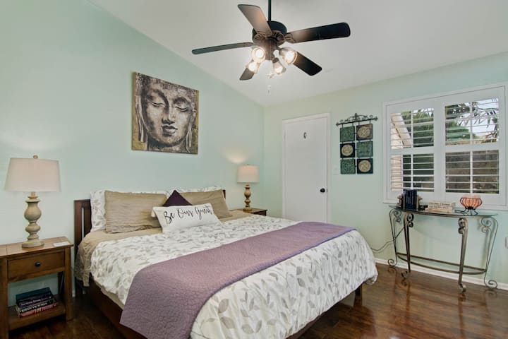☯ Zen Condo - 0.5 mi from Beach