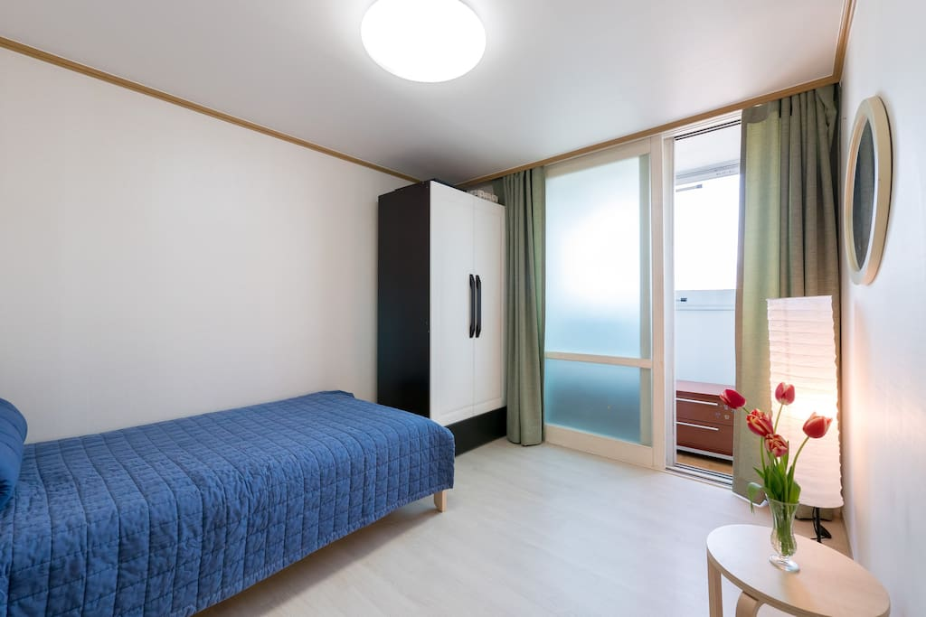 The Bedroom with a veranda