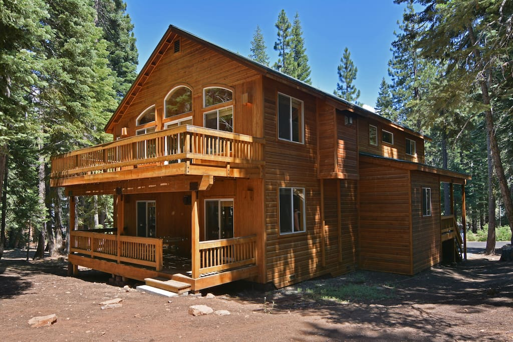There is plenty of parking outside your Tahoe Donner rental.