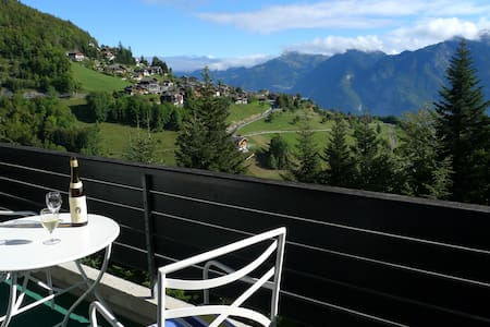 Duplex apartment - two balconies & stunning views - Torgon - Lejlighed