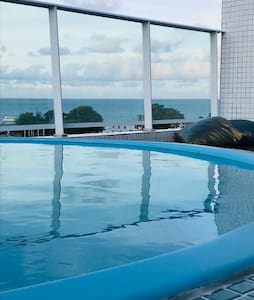 Israel Flat cobertura piscina individual vista mar