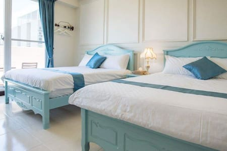 The Bay House~海洋4人房 - Donggang Township - Bed & Breakfast