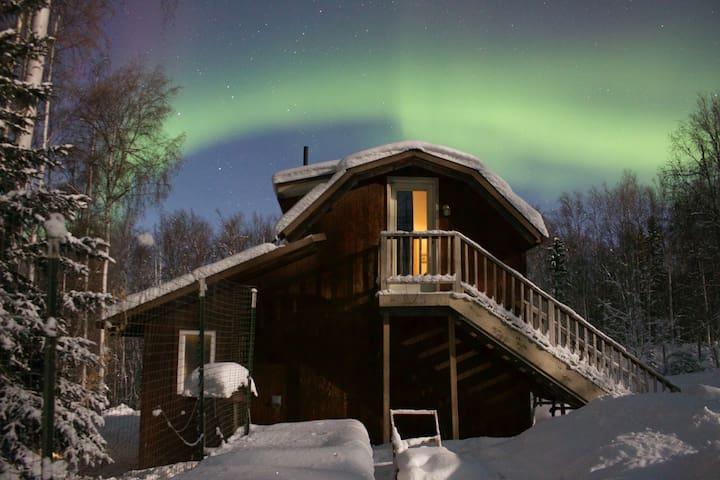 View the aurora from late August through early April.