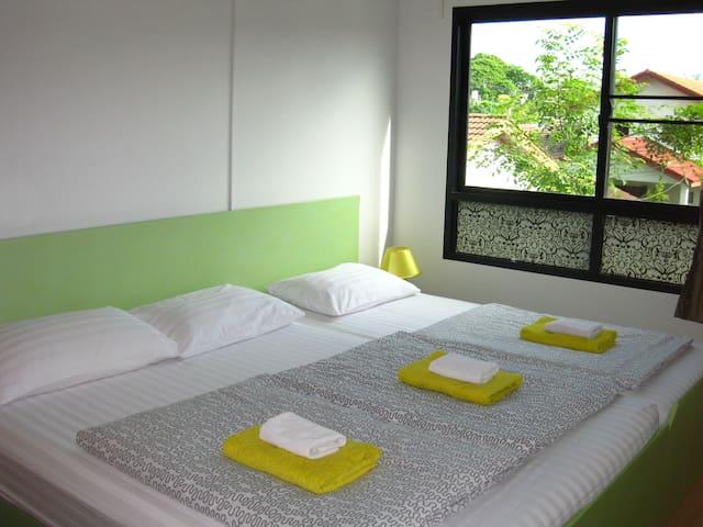 B.  Cosy Bedroom and Livingroom Comfy-Comfy