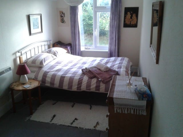 Lovely room in a beautiful area - Sidford - Huis