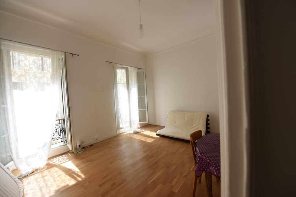 Salon / Futon 2 places / Living room / Convertible Futon king size