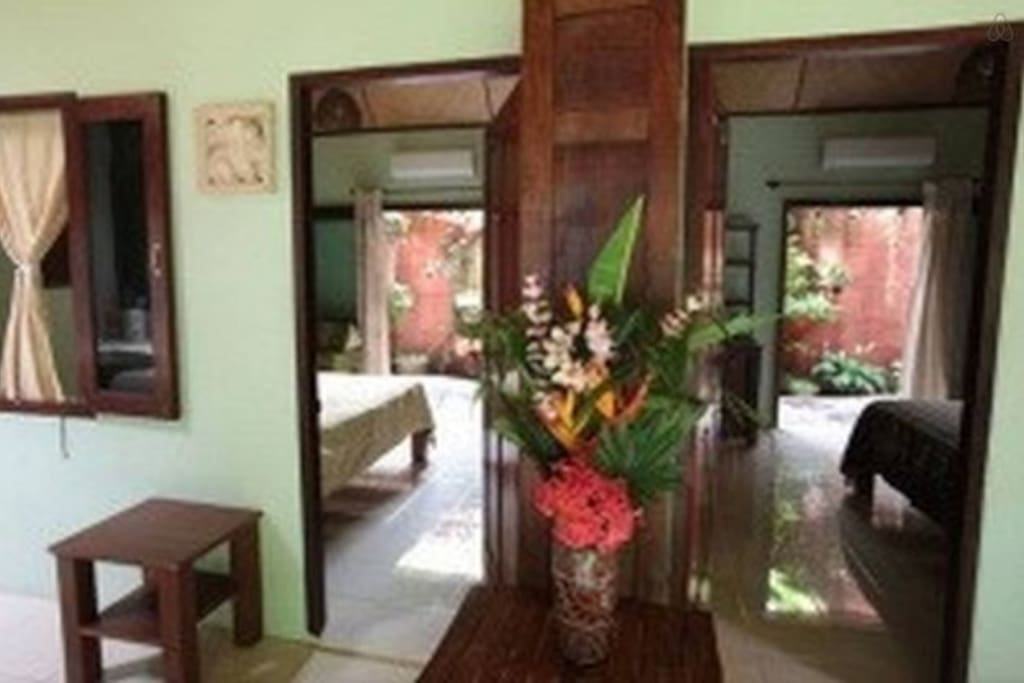 Andaman rooms with a garden shower