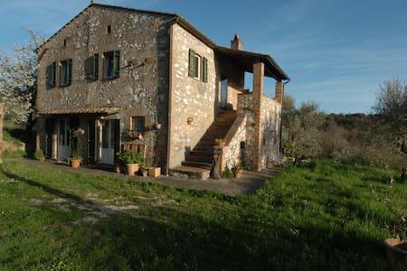 Panoramablick, 80 km von Rom - House