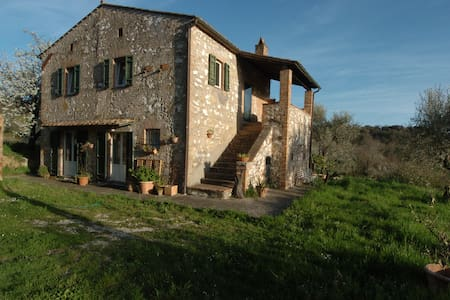 Panoramablick, 80 km von Rom - amelia