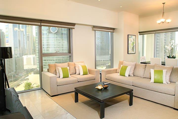 Executive 2 bedroom suite in DIFC