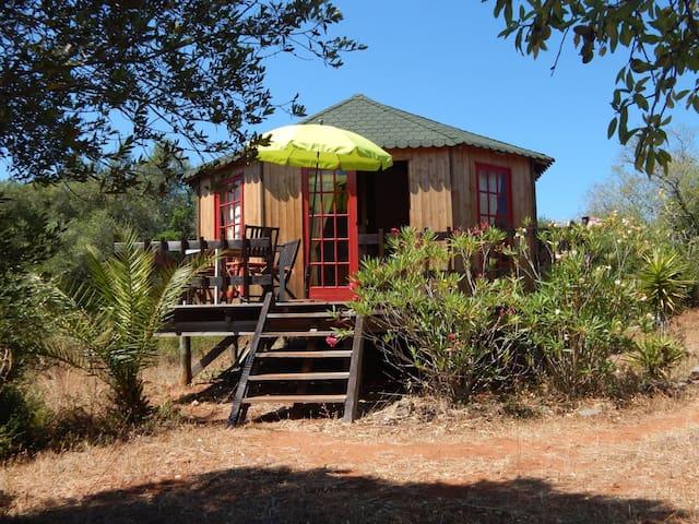 Wooden house - Barão de São João - Dům