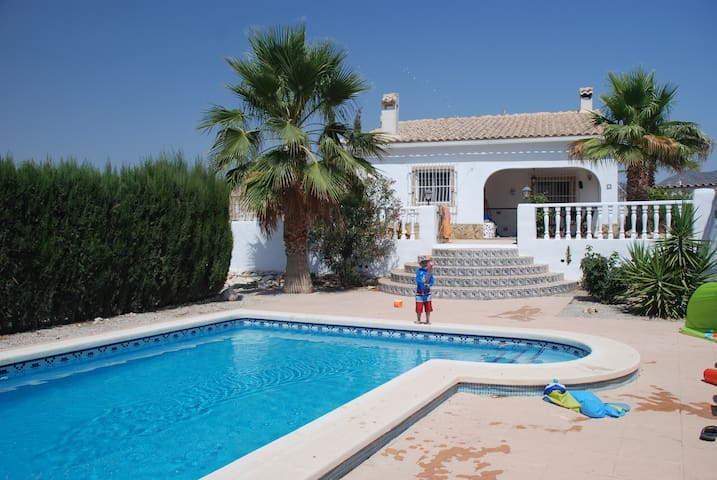 Rural Villa with pool & 1 bed studio apartment - La Romana - Huvila